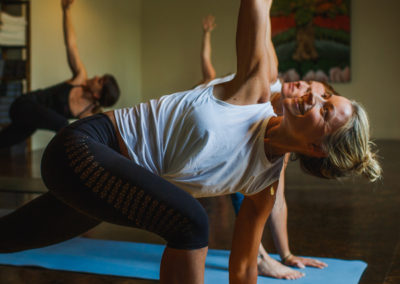 From classes to high quality clothing and accessories, yoga lovers are right at home in the Bison Courtyard